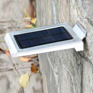 Lâmpada de sensor de movimento solar