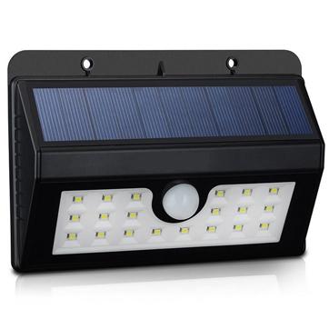 Luz de parede de sensor de movimento de energia solar