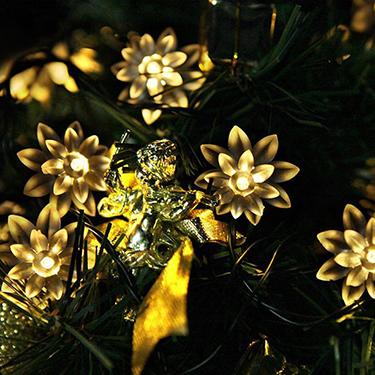 Luz de corda decorativa ao ar livre