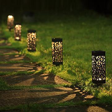 Solar Powered LED Garden Light