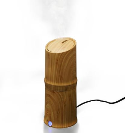 300 ml Difusor de Óleo Essencial de Umidificador de Névoa Fria Aroma Difusor de Óleo Essencial para o Escritório em Casa Quarto Estudo de Sala de estar Spa de Ioga - Grão de Madeira
